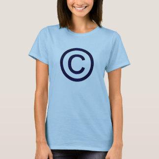 私の自身の版権-液体の青 Tシャツ