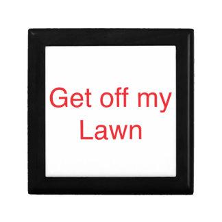 私の芝生を離れて得て下さい ギフトボックス