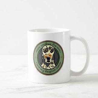 私の英国セッターを愛して下さい コーヒーマグカップ