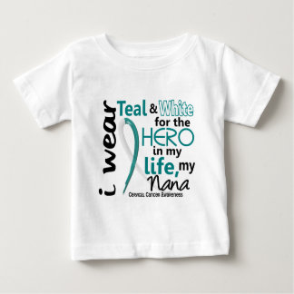 私の英雄のための子宮頸癌・私のナナ2 ベビーTシャツ