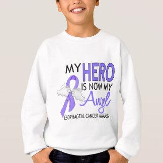 私の英雄は私の天使の食道の蟹座です スウェットシャツ