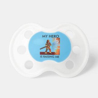 私の英雄は私を消防士PACIFER育てています おしゃぶり