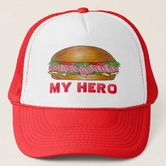 私の英雄海底補助的なサンドイッチ粉砕機のHoagieの帽子 キャップ