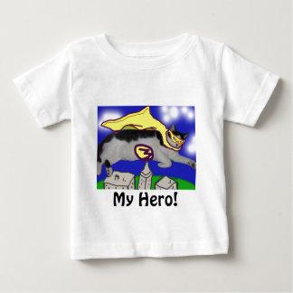 私の英雄猫 ベビーTシャツ