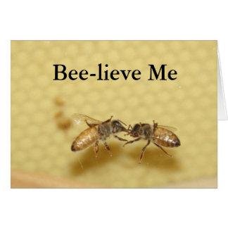 私の蜂蜜の恋人カードです カード