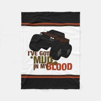 私の血の泥 フリースブランケット