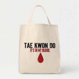 私の血テコンドー トートバッグ