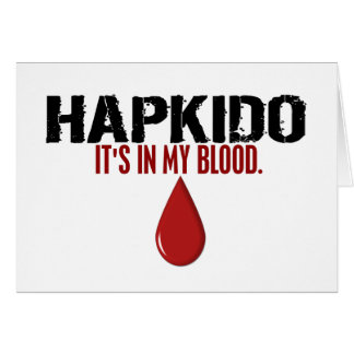私の血HAPKIDO カード