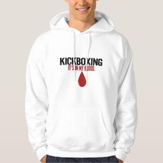 私の血KICKBOXING パーカ
