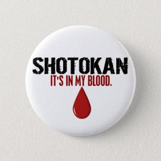 私の血SHOTOKAN 5.7CM 丸型バッジ