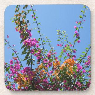 """""""私の裏庭のかわいらしい花""""はコースターを飲みます コースター"""
