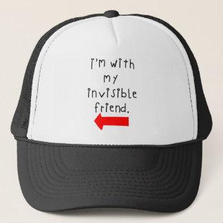 私の見えない友人とのIm キャップ
