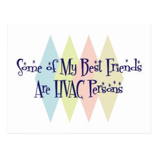 私の親友の何人かHVAC人です ポストカード