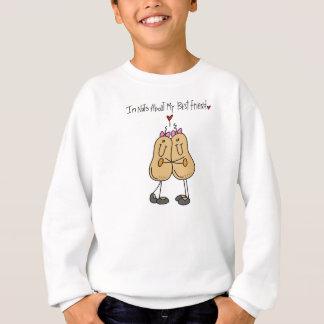 私の親友のTシャツおよびギフトについてのナット スウェットシャツ