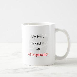 私の親友はアーフェンピンシャーです コーヒーマグカップ
