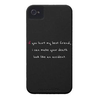 私の親友を傷つけないで下さい Case-Mate iPhone 4 ケース