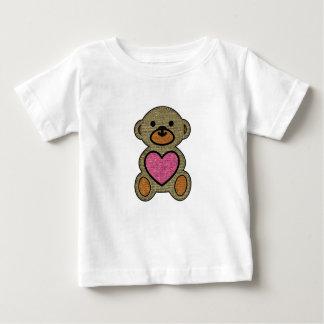 私の親愛なテディー・ベア-ベビーの素晴らしいジャージーのTシャツ ベビーTシャツ