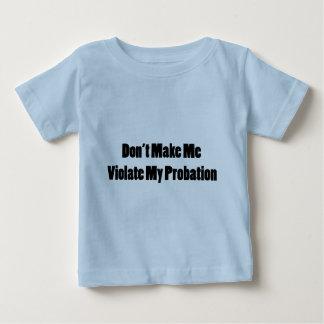 私の試験期間に違反して下さい ベビーTシャツ