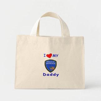 私の警察のお父さんを愛して下さい ミニトートバッグ