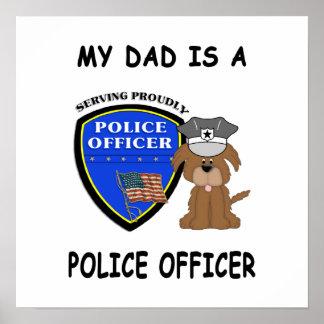 私の警察のパパ ポスター