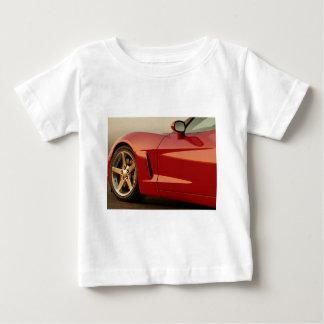 私の赤いコルベット ベビーTシャツ