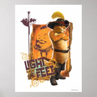私の足のライト ポスター