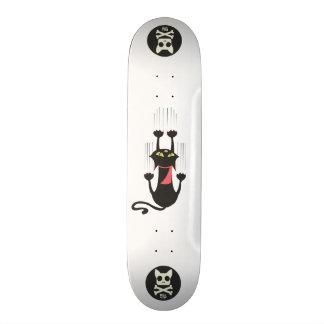 私の足- Kickflip板--を引っ張って下さい 20cm スケートボードデッキ