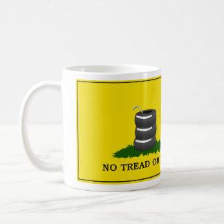 私の踏面無し-マグ コーヒーマグカップ