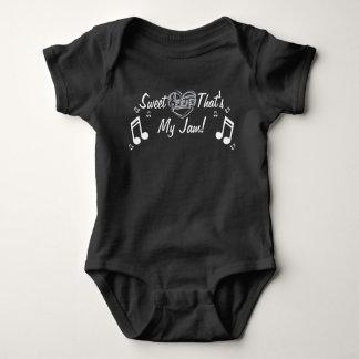 私の込み合い音楽ワイシャツである恋人 ベビーボディスーツ
