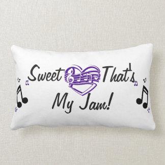 私の込み合い音楽枕である恋人 ランバークッション