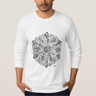 私の道(Rumiの刺激を受けたな曼荼羅) Tシャツ