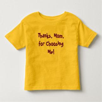 私の選択 トドラーTシャツ