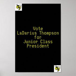 私の選挙ポスター ポスター