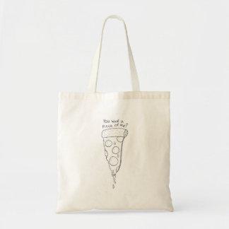 私の部分がピザバッグほしいと思います トートバッグ