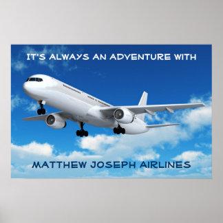 私の部屋への歓迎! (飛行機) ポスター