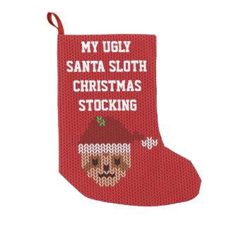 私の醜いサンタの怠惰のクリスマスのストッキング スモールクリスマスストッキング