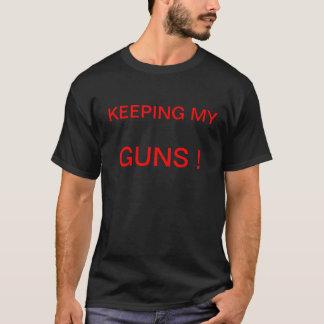 私の銃を保つこと! Tシャツ