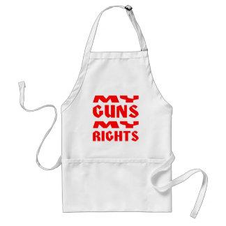 私の銃私の権利 スタンダードエプロン