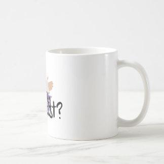 私の鋳造物に署名して下さい コーヒーマグカップ