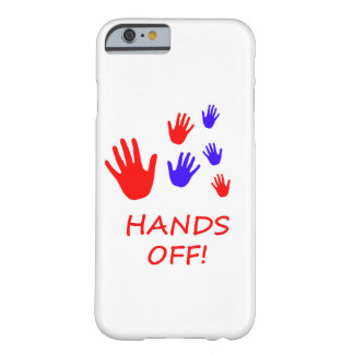 私の電話を離れた手! BARELY THERE iPhone 6 ケース