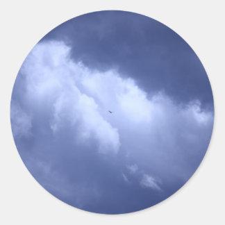 私の青い天国 ラウンドシール