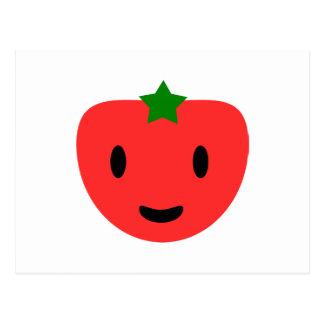 私の非常に幸せなトマト ポストカード
