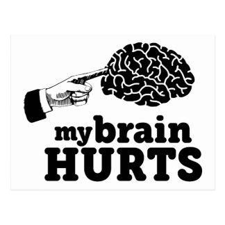 私の頭脳の傷 ポストカード