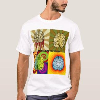 私の頭脳を刺激して下さい Tシャツ