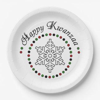 私の願いのKwanzaaのパーティーの紙皿 ペーパープレート