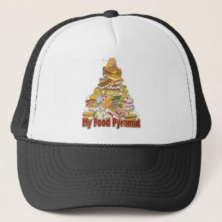私の食糧ピラミッドの~のジャンクフードの軽食 キャップ