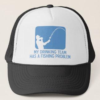 私の飲むチームに魚釣り問題があります キャップ