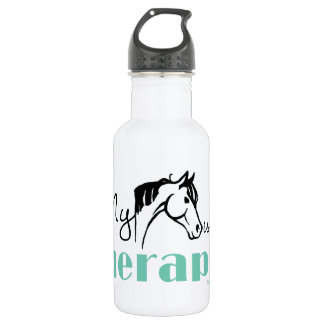 私の馬は私のセラピストです ウォーターボトル