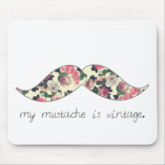 私の髭はヴィンテージのmousepadです マウスパッド