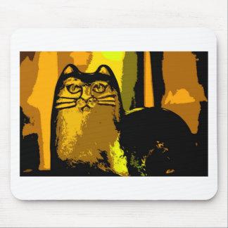私の黄色いCAT マウスパッド